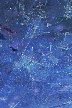 iPhone 4,4s Wallpaper - Constellations