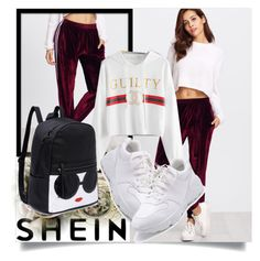 """SHEIN II/6"" by betty-boop23 ❤ liked on Polyvore featuring Sheinside and shein"