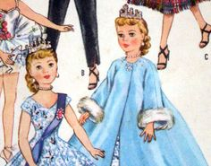 McCall's 2255 Vintage Pattern 1958 20  Miss by SQUARESVILLEUSA, $12.50