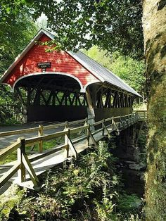 #Covered #Bridge - http://dennisharper.lnf.com/