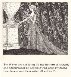 The Green Beads (1978) by Edward Gorey