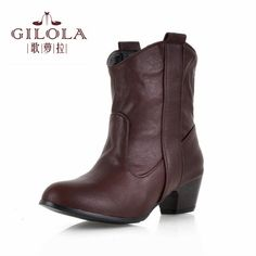 >> Click to Buy << Size 34-43 new 2016 ankle martin snow high heels  women boots autumn women's boots winter shoes woman best #Y3212817F #Affiliate