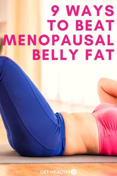 Check out these 9 ways to beat menopausal belly fat! Check out these 9 ways to beat menopausal belly fat! Stubborn Belly Fat, Reduce Belly Fat, Burn Belly Fat, Belly Fat Diet, Belly Fat Workout, Tummy Workout, Belly Fat Loss, Fat To Fit, Lose Fat