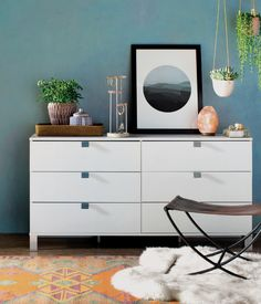Get inspired by Modern Living Room Design photo by Room Ideas. Wayfair lets you find the designer products in the photo and get ideas from thousands of other Modern Living Room Design photos. 6 Drawer Dresser, Dresser As Nightstand, Kids Dressers, Kids Bookcase, Palette, Girl Decor, Jewelry Stand, All Modern, Modern Living