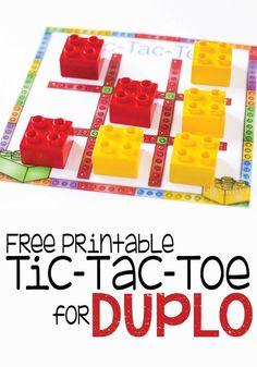 A free printable Tic