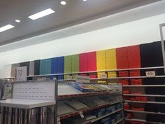 When someone in this department store arranged the towels and peace reigned supreme. | The 34 Most Oddly Satisfying Moments Of 2014