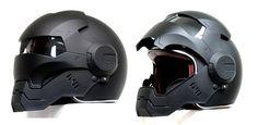 Darth Vader Helmet!! - Masei 610 Matt Black Atomic-Man Motorcycle DOT Helmets - $159 (£104.64) [incl. Free Shipping Worldwide Except Africa & Bosnia].  sales@maseihelmets.com - http://masei-helmets.com/product/masei-matt-black-atomic-man-610-open-face-motorcycle-helmet-free-shipping-for-harley-davidson-1