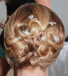 Soft Updo for my wedding by Ashley at Wrights Hair London ON