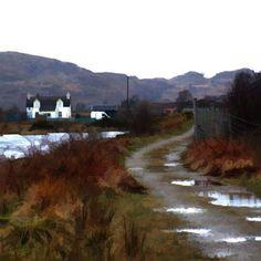 Scottish Artist Ian Ledward