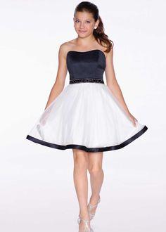 Lexie by Mon Cheri TW11664 Sleeveless Girls Party Dress