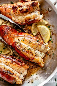 Butter Seared Lobster Tails - Cafe Delites - Butter Seared Lobster Tails – Cafe Delites Best Picture For salmon recipes For Your Taste You a - Best Fish Recipes, Tilapia Fish Recipes, Salmon Recipes, Seafood Recipes, Cooking Recipes, Healthy Recipes, Easy Lobster Recipes, Cooking Tips, Chicken Recipes