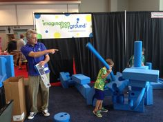 Great goodies to climb on at Imagination Nation.