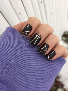 With matte black and rose gold