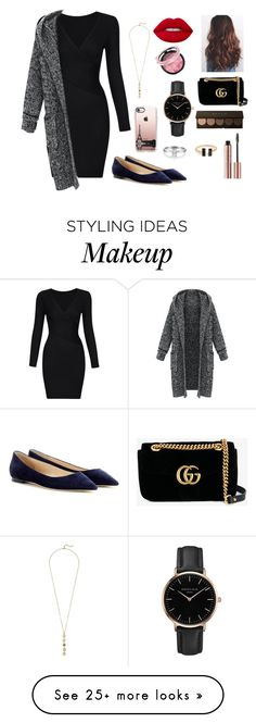 """""""Untitled #4"""" by jenh1 on Polyvore featuring Jimmy Choo, Casetify, Cole Haan, Gucci, Topshop and Lime Crime"""