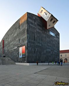 The Mumok (Museum Moderner Kunst/Museum of Modern Art) is the biggest museum of contemporary art in Central Europe.