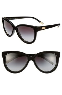 63aa1b46eab Giorgio Armani  Garçonne  57mm Cat Eye Sunglasses