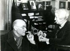 Gisèle Freund - André Gide & Mme Rysselbergh