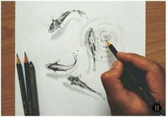 Color pencil art