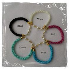 Braided Viking Bracelet, 5 Colours, Viking Bangle, Lucet