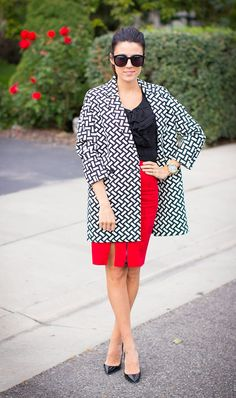 Hello Fashion: Penciled Red