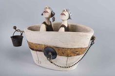 badkuipje keramiek-Ans Vink