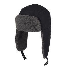 5d7fddd0de348 Men s Levi s Ripstop Sherpa-Lined Trapper Hat