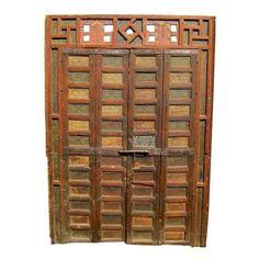 19th Century Moroccan Storefront Doors - $9,500 Est. Retail - $3,500 on Chairish.com