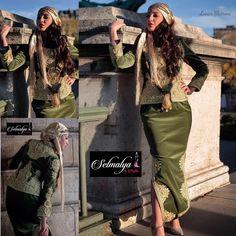 Tenue traditionnelle algérienne le Karakou algérois  entièrement brodé main #karakou #khiterrouh #velours #fetla #fildor #latoisondor #algerianfashion #dziriya #algéroise #tasdira #selmalya #mahermetftoul #soie #faitmain #artisanat #serouel #chelka  By @selmalya_haute_couture
