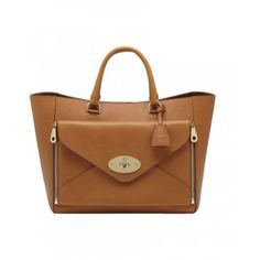 Mulberry Willow Silky Classic Leather 1588 Ginger Handbag Bag Branded Bags Tote Handbags