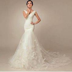 Wedding dress inspiration pic via @weddingideas_bride #weddingdress #inspiration #whitewedding