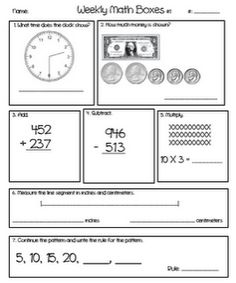 2nd grade math word problems - printable worksheets | For Erika ...