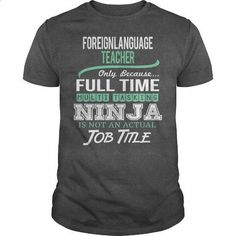 Awesome Tee For Foreign Language Teacher #style #clothing. I WANT THIS => https://www.sunfrog.com/LifeStyle/Awesome-Tee-For-Foreign-Language-Teacher-144432464-Dark-Grey-Guys.html?id=60505
