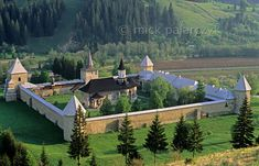 ' The Sucevita Monastery in northern Moldavia was founded in Its massive walls were meant to ward off infidel invaders. Wolf People, Carpathian Mountains, Cathedral Church, Romania, Sheep, Places To Visit, Europe, Clouds, World