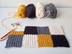 "maRRose - CCC: The ""Dijon Stitch/Blanket""- tutorial"