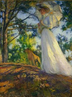 Edmund C. Tarbell - On Bos'n's Hill