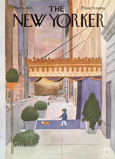 The New Yorker Cover - March 1976 Regular Giclee Print autor Charles E. Martin w AllPosters. The New Yorker, New Yorker Covers, Capas New Yorker, Illustrations, Illustration Art, New Yorker Cartoons, Magazine Art, Magazine Covers, Photo Wall Collage