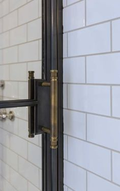 shower. door handle hardware.