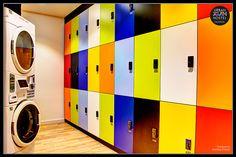 Dormitory, Hostel, Locker Storage, Photography, Valencia, Youth, Home Decor, Urban, Wall Papers