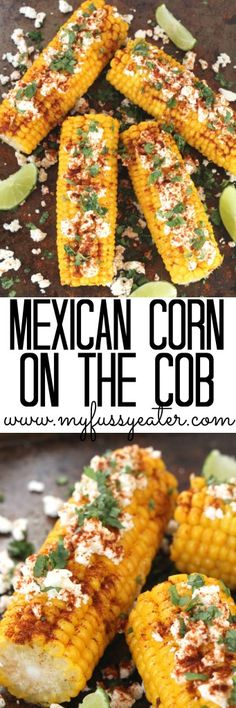 Liven up bland corn on the cob with this delicious and healthy mexican recipe