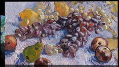 Van Gogh. Stillleben - Trauben, Früchte, Zitronen, Orangen. Art On Scree... Vincent Van Gogh, Museum, Pink Zebra, Orange, Beautiful Moments, New Art, Make It Yourself, Artist, Painting