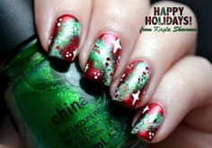 Hey!   For my first Christmas nail art design of the year, I really wanted to do something that hasn't been done before. So after racking my...
