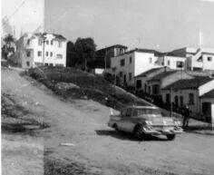 1959 - Rua Caiubi no bairro de Perdizes.