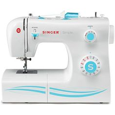 Singer Simple 23-Stitch Sewing Machine 2263 I have this machine & it's awesome. Does a lot of work for a great price. I have made everything from quilts to cloth diapers with it.