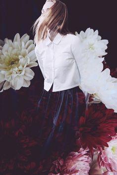 Matt Lain & Toni Caroline #fashion #floral #flowers #editorial