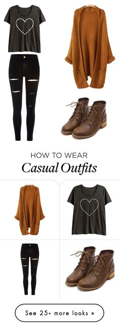 """""""Daily Casual"""" by fattyfugwa on Polyvore featuring River Island and LC Trendz"""