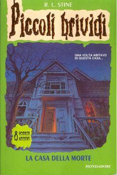 """Piccoli Brividi: """"La casa della morte"""" nel 1992 fu da subito un successo. Il genere #horror adatto anche ai più piccoli."""