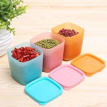 230 ML De Plástico Multifunción mini Refrigerador caja de almacenamiento cajón transparente sellada cocina cuadro de clasificación caja de almacenamiento de alimentos(China)