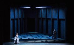 Anna Bolena at the Wiener Staatsoper, Vienna. Production by Eric Genovese. Sets by Jacques Gabel and Claire Sternberg.