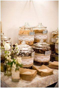 Diy wedding catering budget dessert bars ideas for 2019 - Cookie Bar Wedding, Diy Wedding Food, Dessert Bar Wedding, Candy Bar Wedding, Wedding Cookies, Wedding Catering, Dessert Bars, Wedding Ideas, Trendy Wedding