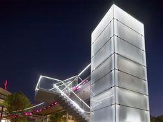 Telekombridge - Bonn, Germany - lighting by Licht Kunst Licht AG